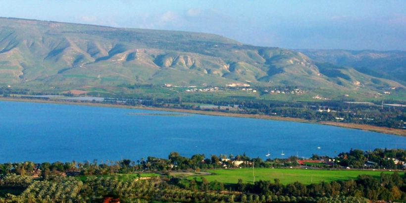 Terra Santa – Mar da Galiléia